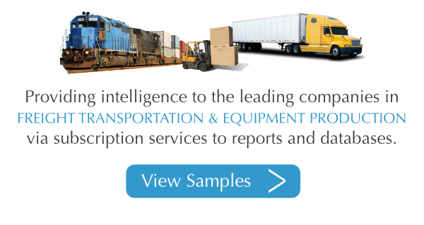 Providing Intelligence for the Leading Companies in Freight Transportation and Equipment Demand for Commercial Vehicle and Railcar